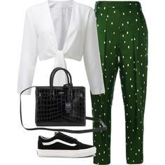 Untitled #1484 by deamntr on Polyvore featuring мода, 3.1 Phillip Lim, Vans and Yves Saint Laurent