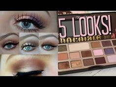 5 Looks ft. Too Faced Chocolate Bar Palette ♡ Tobie Jean - YouTube