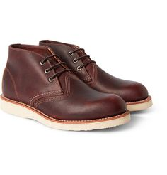 Red Wing Shoes - Chukka Rubber-Soled Leather Boots