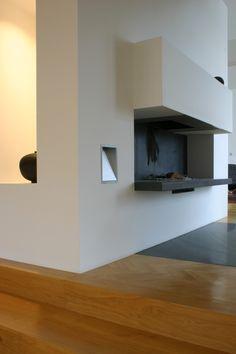 Wohnraum Villa Wels - Entwurf FISCHILL Architekt