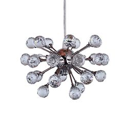 Crystal Pendant light with 6 Lights in Artistic Style – GBP £ 57.59