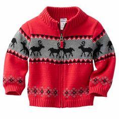 Christmas Sweater Baby Boy