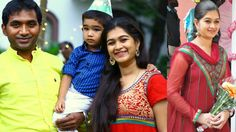 Deivam Thandha Veedu Serial Kalpana /  Actress News Reader Vaanilai Moni...