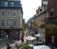 Petit Champlain, the oldest street from Canada.