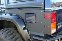 or fab s new body armor for the jeep cherokee xj