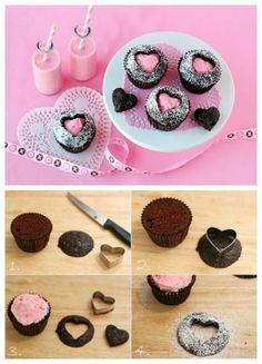 Dolci San Valentino: muffin romantici