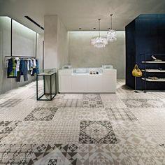 Porcelain Tiles - Frame Carpet Collection from Ceramiche Refin
