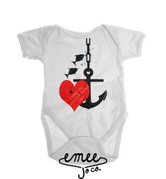 I Caught My Mommy & Daddy's Heart baby girl clothes baby boy clothes