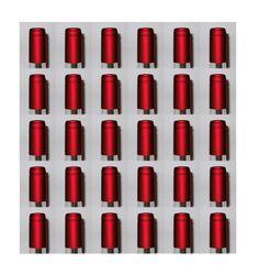 Shrink Capsules 100 Oriental Red Pvc Heat Shrink Caps For Wine Bottles Matte Metallic Finish, 2015 Amazon Top Rated Bottling & Corking #Kitchen