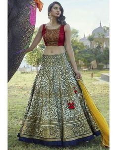 Buy Online Punjabi Wedding Lehenga Designer Collection Call/ WhatsApp us 77164 Wedding Lehenga Online, Lehenga Choli Online, Bollywood Lehenga, Bollywood Fashion, Lehenga Online Shopping, Party Fashion, Fashion Outfits, Party Sarees, Designer Bridal Lehenga