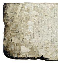 'Terra' (detail)  Sue Lawty  2004  Linen, hemp, silk  Width 200 cm x height 70 cm  © Sue Lawty