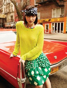 """Andressa Fontana in """"St. Marks Place"""" Photographed by Sarra Fleur Abou-El-Haj & Styled by Yael Gitai for Nylon Mexico"""
