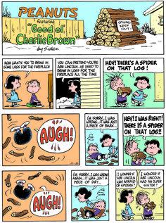 Classic Peanuts - 11/23/14 - Originally appeared 11/26/67