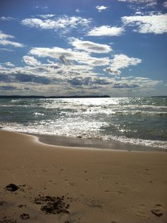 I love the beach! Leland, Michigan