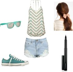 """""""Summer!!!"""" by paulina-vit ❤ liked on Polyvore"""