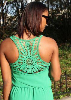 Tan Wedges Crochet Yoke, Crochet Fabric, Form Crochet, Crochet Shirt, Crochet Squares, Affordable Clothes, Affordable Fashion, Small Town Girl, Tunic Pattern