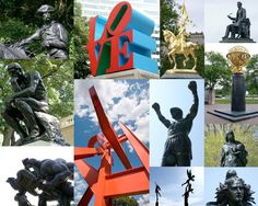 Philadelphia has more public art than any other city in the U.S.