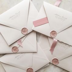 "3,813 Likes, 32 Comments - Papel & Co. by Nat Otálora (@papelnco) on Instagram: ""Piles of pretty invitations ✨"""