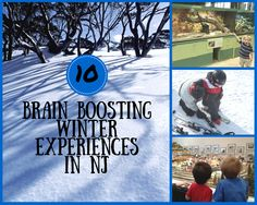 10 Brain Boosting Winter Experiences in NJ an article about educational and fun activities in NJ by Mommy University www.mommyuniversitynj.com