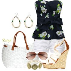 Summer Fun, created by roxyd on Polyvore