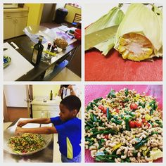 Sweet Corn,Tomato and Green Bean Pasta Salad Recipe - A Little Red Door Cancer Agency Door to Wellness Recipe