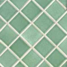 Diagonal Set (Sea Green)  tile pattern  ~ Debris 3x3 in Diagnal Set pattern