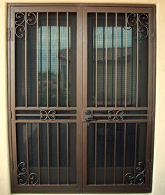 Security Screen Doors For Double Entry Patio Arcadia Or