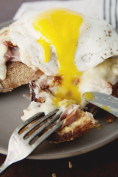 Croque Madame by thekitchykitchen