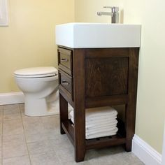 Diy bathroom furniture bathroom remodel build small vanity with an ikea sink and it has both Bathroom Door Hooks, Ikea Bathroom Vanity, Ikea Sinks, Diy Vanity Mirror, Small Vanity, Vanity Ideas, Double Vanity, Bathroom Chair, Body Mirror