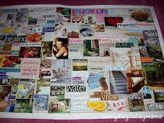 my vision board http://sunnydaytodaymama.blogspot.co.uk/2010/10/adding-to-my-vision-board.html