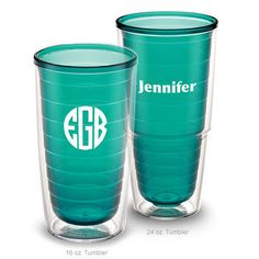Design Your Own Personalized Emerald Tervis Tumblers