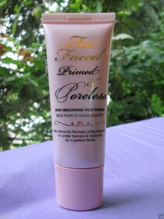 TOO FACED Primed & Poreless Skin Smoothing Face Primer (1 oz.) #TooFaced $30.00 available @ stores.ebay.com/kleeneique