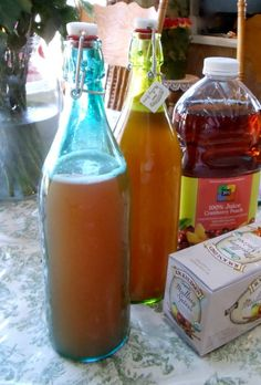 Happy New Year Kefir Soda! Make your own bubbly soda with naturally occurring carbonation and probiotics. This soda is made me Mullen spices and cranberry peach