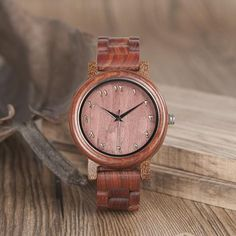 Redwood Band Arabic Numerals Wooden Watch in Wooden Gift Box  Wood watches for men style internet unique products shops fashion for him  band black awesome accessories gift ideas beautiful guys dads outfit boxes pictures man gifts casual For sale buy online Shopping Websites montre en bois homme garçon papa cadeaux idées originales mode Achat Acheter en ligne Site de vente france USA Canada Australia