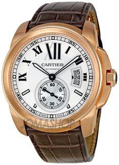 Cartier Calibre De Cartier Silver Dial Mechanical Mens Watch W7100009 $18,942