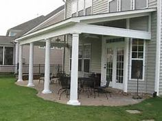 Covered Patio Ideas | Apart from only the aesthetic value, it is ...