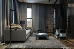 Apartment Brooklyn by YoDezeen (1)