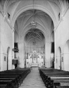 Interior Iglesia San Jose (San Juan Puerto Rico)