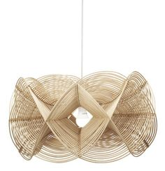 Pendant lamp / contemporary / rattan C16LM-031 Corner 43 Decor More