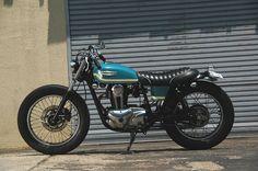 Kawasaki TR250 - 250cc, brat style, damn near perfect