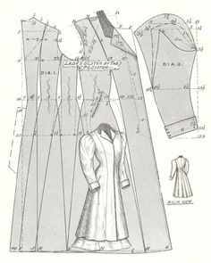 couture diagram skirt - Google Search