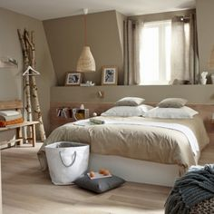 Pick up the newest pictures of Deco Chambre Adulte on this page. Deco Chambre Adulte photos are posted by Admin on January 2018 at pm. Bedroom Colour Palette, Bedroom Color Schemes, Bedroom Paint Colors, Paint Decor, Colour Schemes, Wood Bedroom, Bedroom Decor, Bedroom Ideas, Bed Ideas