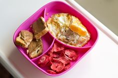 baby led weaning toddler packed lunch for school child care