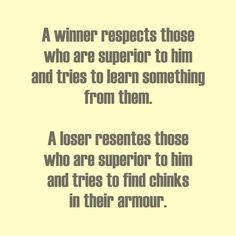 """Winners vs Losers When a winner makes a mistake, he says, """"I was wrong"""" When a loser makes a mistake, he says, """"It wasn't my fault"""" . So True, Good To Know, Things To Think About, Sayings, Wall, Lyrics, Walls, Quotations, Idioms"""