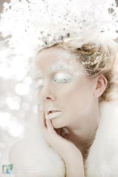 Final-Christmas Carol/ Christmas Past Winter Princess, Ice Princess, Snow Queen Makeup, Snow Makeup, Ice Makeup, Frozen Makeup, Party Makeup, Photoshoot Inspiration, Makeup Inspiration