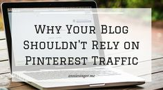 Does your blog and business rely on Pinterest for traffic? Here's why that's NOT a good thing, and how to build your audiences on other platforms!