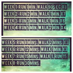 Running for beginners