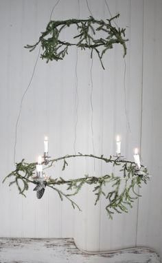 DIY Advent Wreath by Johanna Flyckt