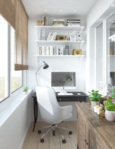 One room, Five stylish design idea's: A small Moskow study #interior #tips #makeityours | KUKUN
