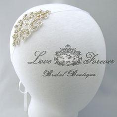 Hey, I found this really awesome Etsy listing at http://www.etsy.com/listing/125120358/rhinestone-wedding-headband-satin